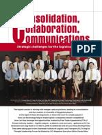 Consolidation Collaboration Nad Communication