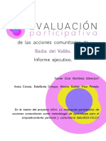 Infejebadia_evaluación Participativa 2013
