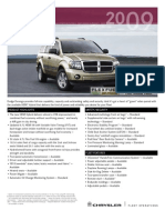 2009 dodge durango brochure