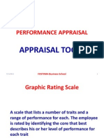 PERFORMANCE APPRAISAL TOOLS