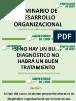 PRIMERA SESION SEMINARIO DE DESARROLLO ORGANIZACIONAL