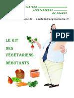 vegetarien guide débutant