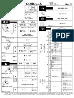 Toyota corolla owners manual