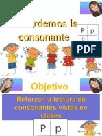 repaso de consonantes p