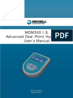 Michell MDM300 is Manual