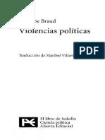 Braud Philippe - Violencias Politicas
