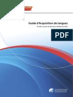 Guide d'acquisition de langues