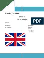 International business management report-final