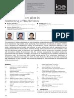 Efficiency of Micro Piles in Reinforcing