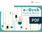 E-Orch Teaching Manual - Curriculum and Resources