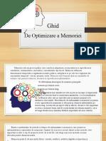 Optimizare  Memorie