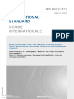 IEC 60811-511 Measurement of the Melt Flow Index of Polyethylene Compounds