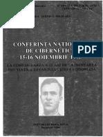 Ștefan Odobleja - Conferința Națională de Cibernetică,1993