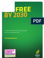 Oil Free By 2030 Briefing Note