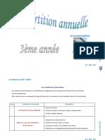 3 Année - Français - Répartition Annuelle 1
