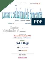 Dossier Dévaluation 6ème