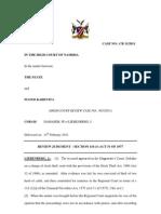 State v Floyd Kahevita Review.cr11-11.Liebenberg J.14 Feb 11