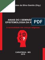 Anais do  I Seminário de Epistemologia da Religião