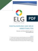 Digitalisierung und neue Arbeitswelten_Vorstellung der Literatur