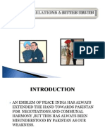 INDO PAK RELATIONS AT A GLANCE