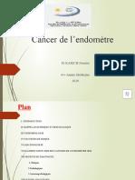 Cancer de l'endomètre
