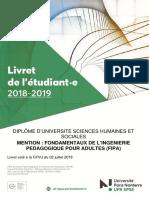 livret_pedagogique-DU FIPA 2018-19