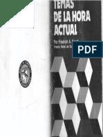 """Hayek, (1977) """"Entorpeciendo la economía"""" en Temas de la hora actual,  Bolsa de Comercio de Buenos Aires"""