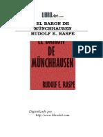 Raspe, Rudolf Erich (1737-1794) - El Barón de Münchhausen
