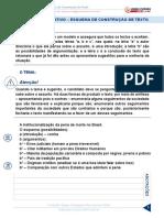 Aula 15 [PDF]- Texto Argumentativo - Esquema de Construção de Texto