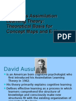 Ausubel's Assimilation Learning Theory