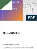 Malapropism-Run-on-Fragment