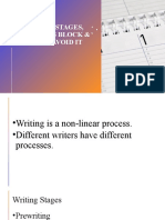 Writing Stages-Writers Block