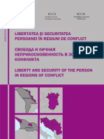 libertatea si securitatea persoanei in regiuni de conflict