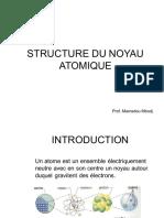 Structure du noyau Atomique 2018