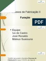 Processos de Fabricação II - Apresentação