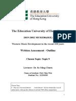 FOK Chin Wai - Written Assessment_Outline