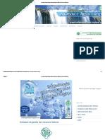 A Onda é Água Limpa_ Estrutura de gestão dos recursos hídricos