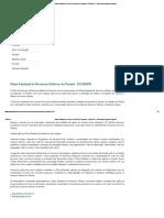 Plano Estadual de Recursos Hídricos do Paraná - PLERH_PR - Instituto das Águas do Paraná