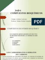 UNIDAD 6 Compuestos Bioquimicos
