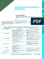 Traitements Et Destinations Finales Des Boues Résiduaires - Ti452Pesp-j3944