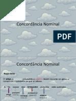 Concordância Nominal II - J