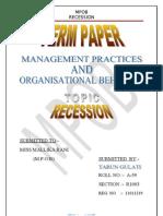 MPOB term paper 2003