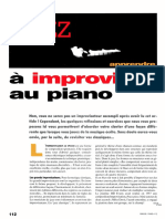 P12 Jazz Apprendre a Improviser
