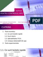 Teste rapide analitice pentru controlul apei_Buzatu Cristina