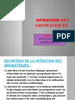NITRATION DES AROMATIQUES