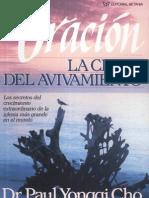 (2) David (Paul) Y Cho La Oracion Clave del Avivamiento