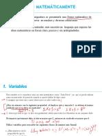 Matemáticas Discretas 1