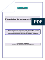 ThermExcel - Programme HydroFluid