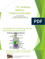 Folgeerkrankung Diabetes