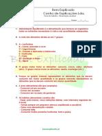 A.1.3 - Ficha de Trabalho - Alimentação saudável (1) - Soluções